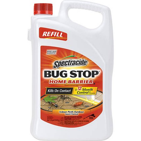 Spectracide Bug Stop Home Barrier, AccuShot Refill, 1.33-gallon