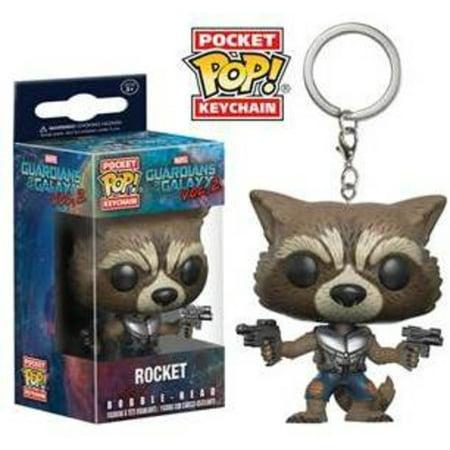 Funko Pocket Pop  Keychain  Guardians Of The Galaxy Vol 2   Rocket