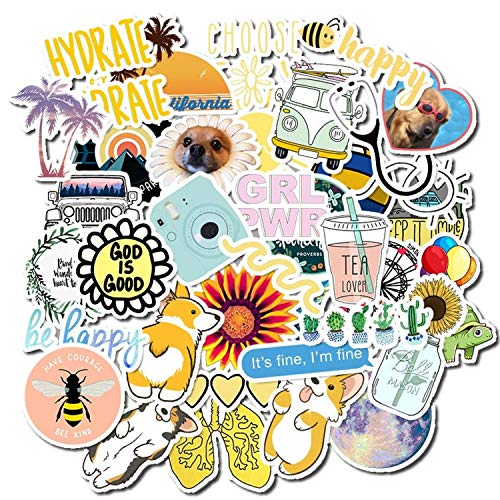 Details about  /50pcs Animal Stickers Pack On The Laptop Fridge Phone Skateboard Suitcase