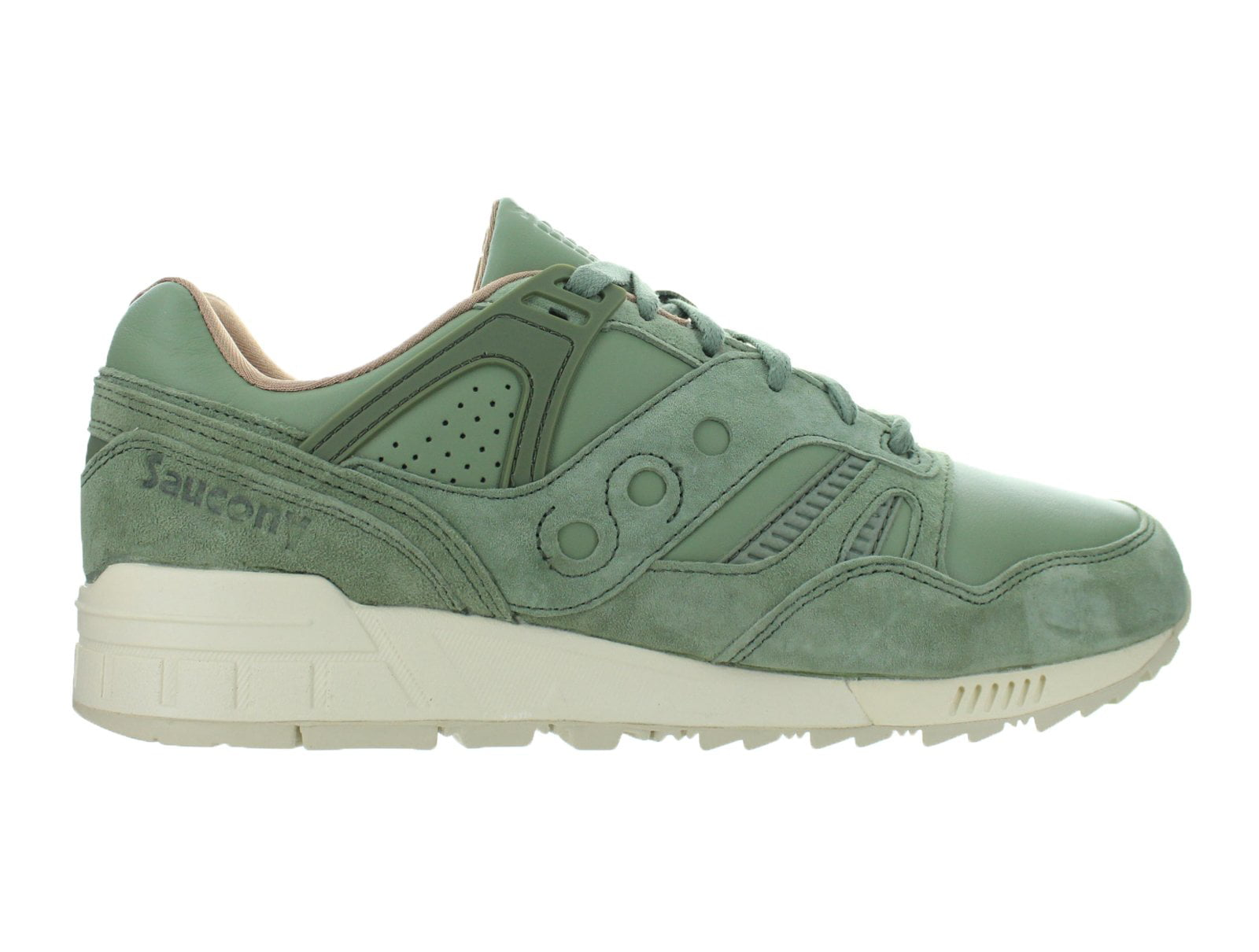 the latest 074c7 7abbc Mens Saucony Grid SD Public Gardens Olive Green S70263-2 - Walmart.com