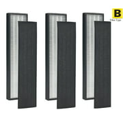 3Pack - True HEPA Filter B for GermGuardian FLT4825 AC4300 AC4800
