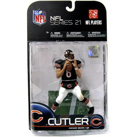 McFarlane NFL Sports Picks Series 21 Jay Cutler Action Figure [Dark Blue (Jay Cutler Nfl Jersey)