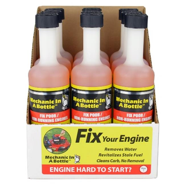 B3C Fuel Solutions 2-008-9 Mechanic In a Bottle 8 oz. -  Case of 9