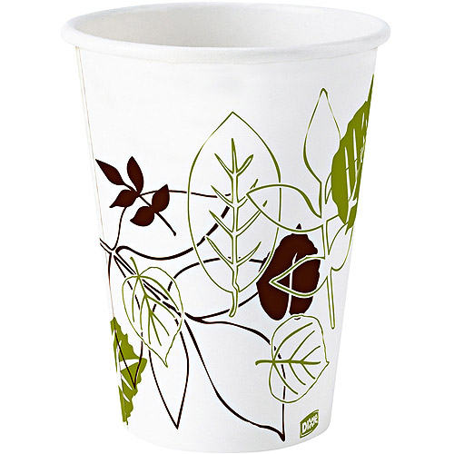 Dixie Wax Treated Cold Paper Cups, 5 oz, 2400 count
