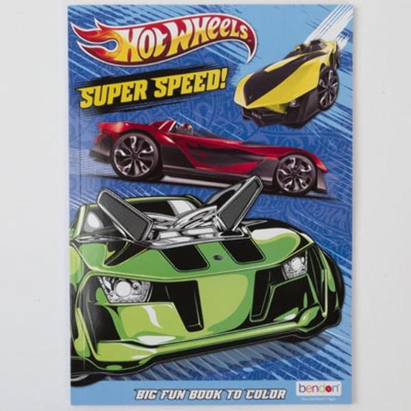 Hot Wheels Coloring Book - CASE OF 24 - Walmart.com - Walmart.com