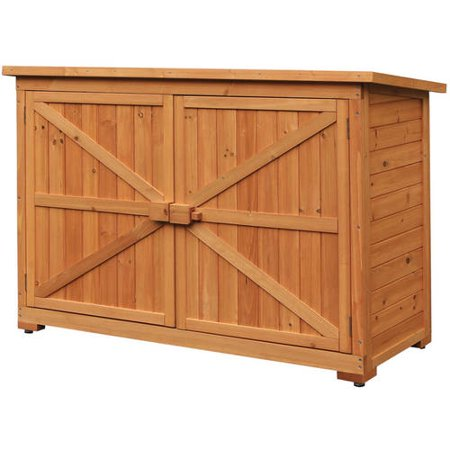 merax wooden garden shed wooden lockers with cedar wood