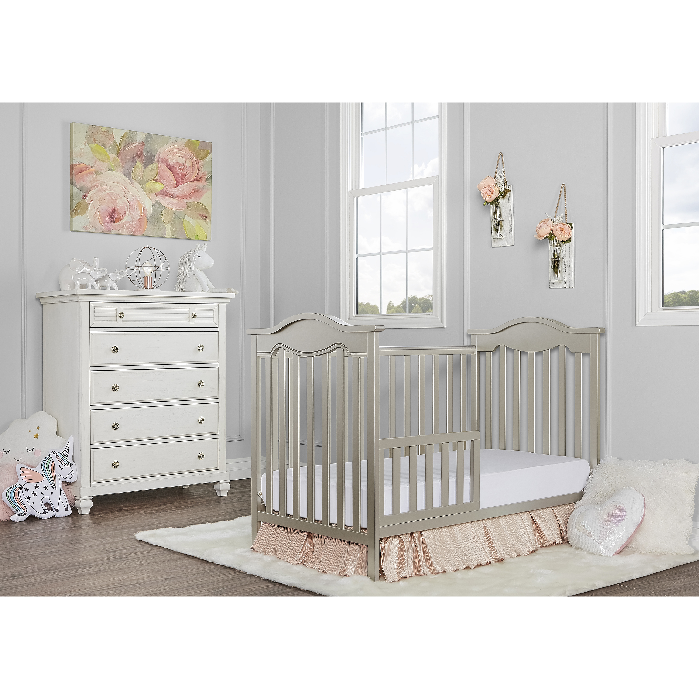 Dream On Me Universal Convertible Crib Toddler Guard Rail Gold Dust Walmart Com Walmart Com