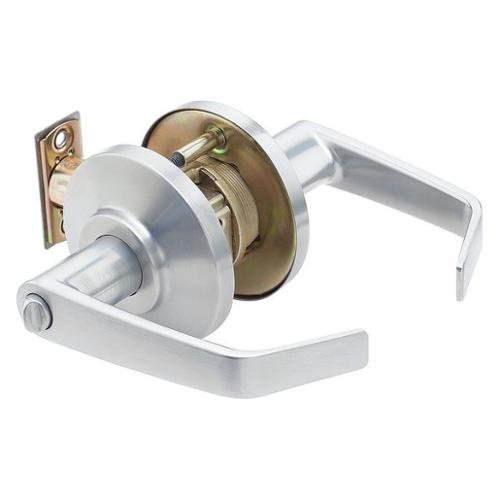 BEST 7KC30L15DS3626 Lght Duty Lvr Lockset, Contour Angle Lvr