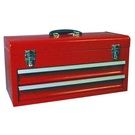 Torin Tb132 20'' 2-Drawer Portable Tool Chest With 1 Tray Tool Box Tray