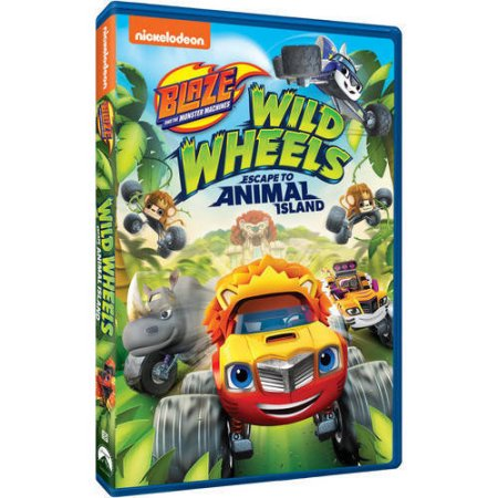 - Blaze And The Monster Machines: Wild Wheels Escape To Animal Island (DVD)