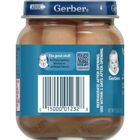 Gerber Lil Sticks Chicken Sticks 25 Oz Jar Best Gerber Baby Food