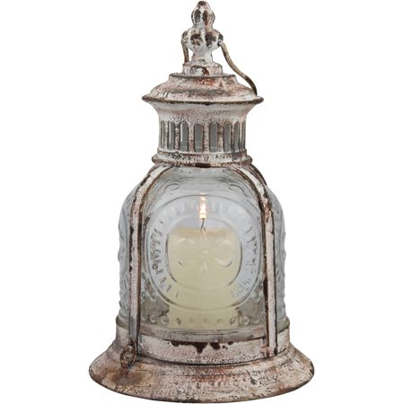 Stonebriar Collection Aged Cafe Terrace Lantern - Lantern Centerpieces For Wedding