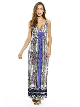 0ee4a5ed8278 Product Image Just Love Maxi Dresses for Women / Summer Dresses (Paisley  Mirror, Large, Dress