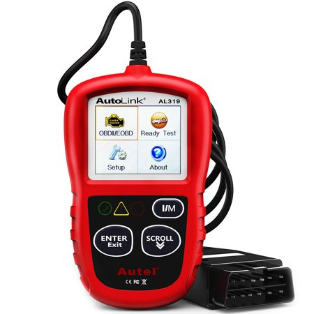 Autel AutoLink AL319 OBD2 Scanner Car Diagnostic Code Reader Automotive Engine Fault CAN Scan