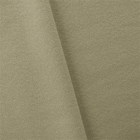 Taupe/Ivory JR Scott Wool Crepe Home Decorating Fabric, Fabric By the - Crepe Wool