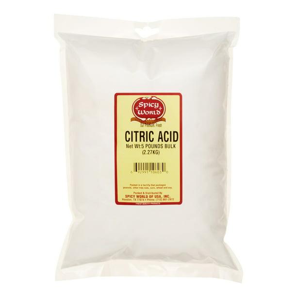 Spicy World Citric Acid 5 Lb Walmart Com Walmart Com