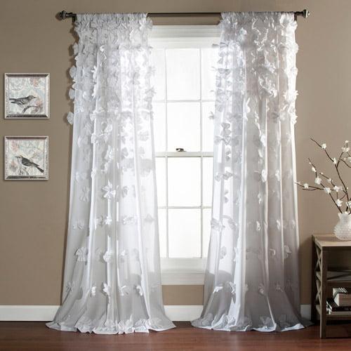 Curtains For Teenage Bedroom | Riley Girls Bedroom Curtain Panel Walmart Com