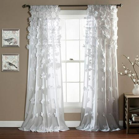 Riley Girls Bedroom Curtain Panel Walmart Com