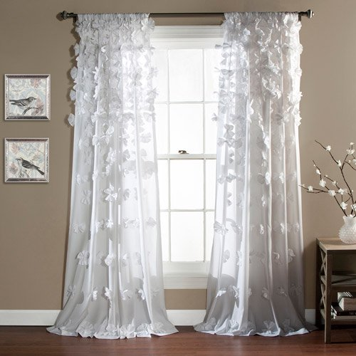 Bedroom Curtains Walmart: Riley Girls Bedroom Curtain Panel