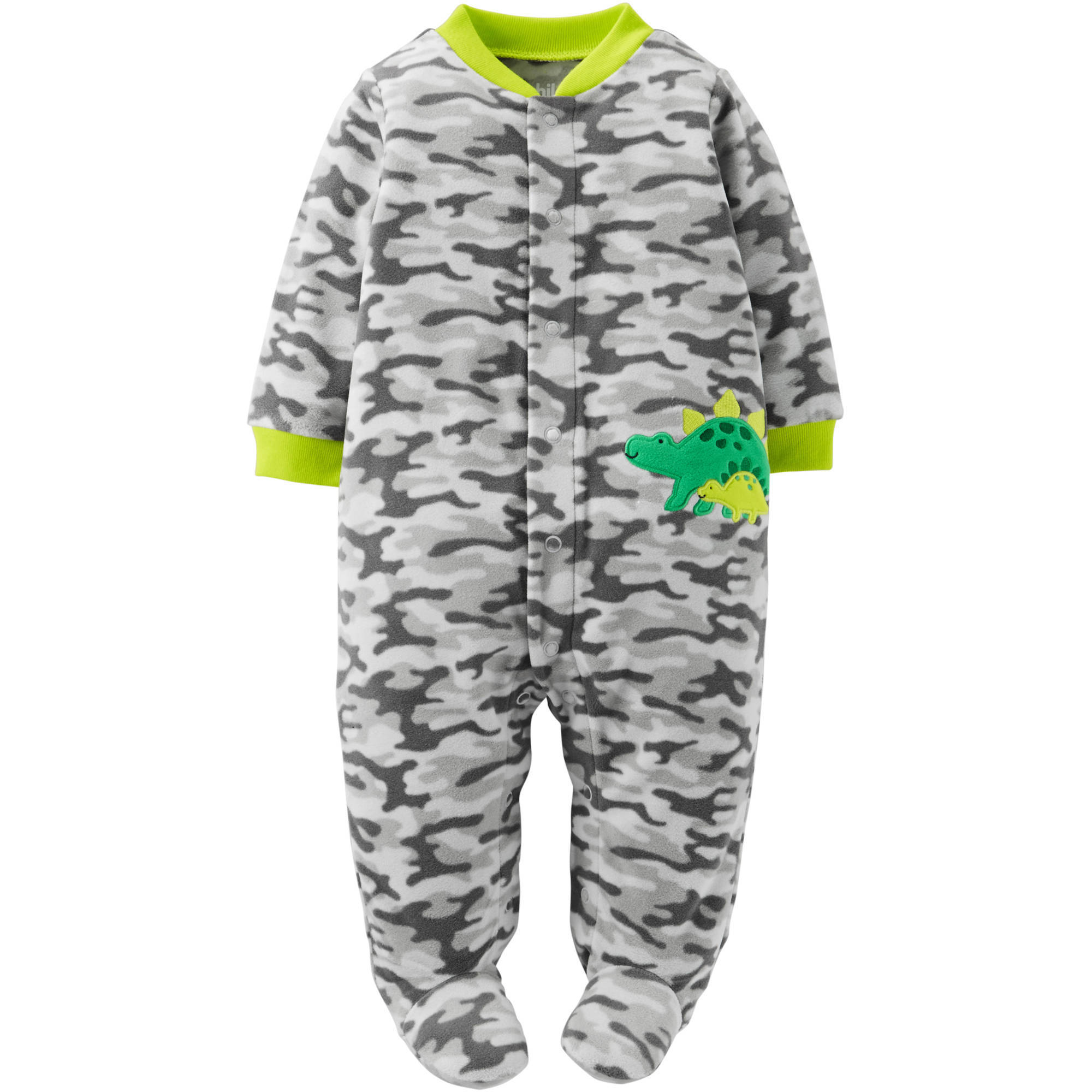 Child of Mine by Carter's Newborn Baby Boy Microfleece Sleep N Play
