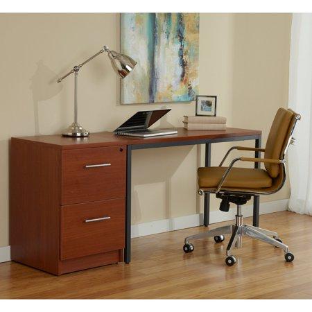 Jesper Office Parsons 47 In Desk And Filing Cabinet Espresso