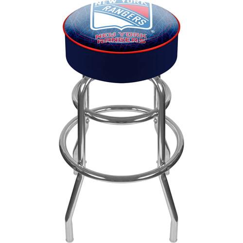 """Trademark Global NHL New York Rangers 31"""" Padded Bar Stool"""