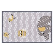 The Rug Market Elephant & Bird Area Rug, 2.8' x 4.8'