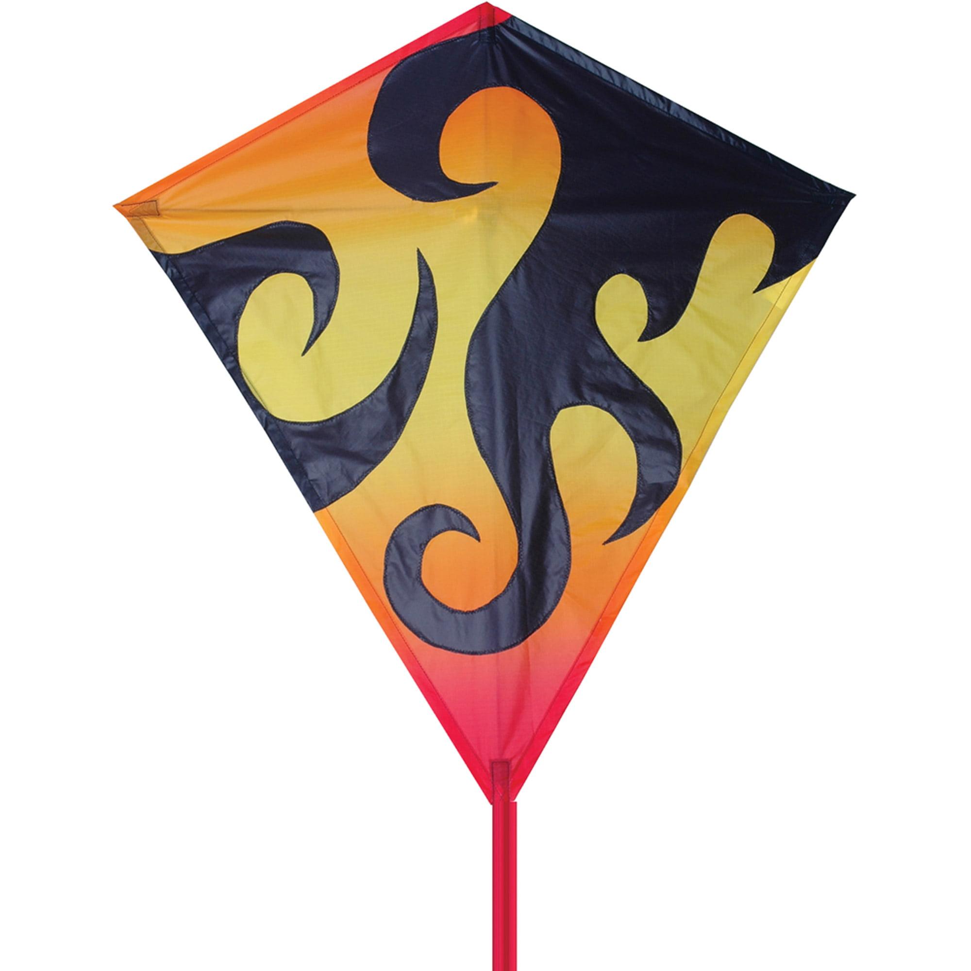 "Premier Designs 30"" Diamond Kite, Hot Flames"