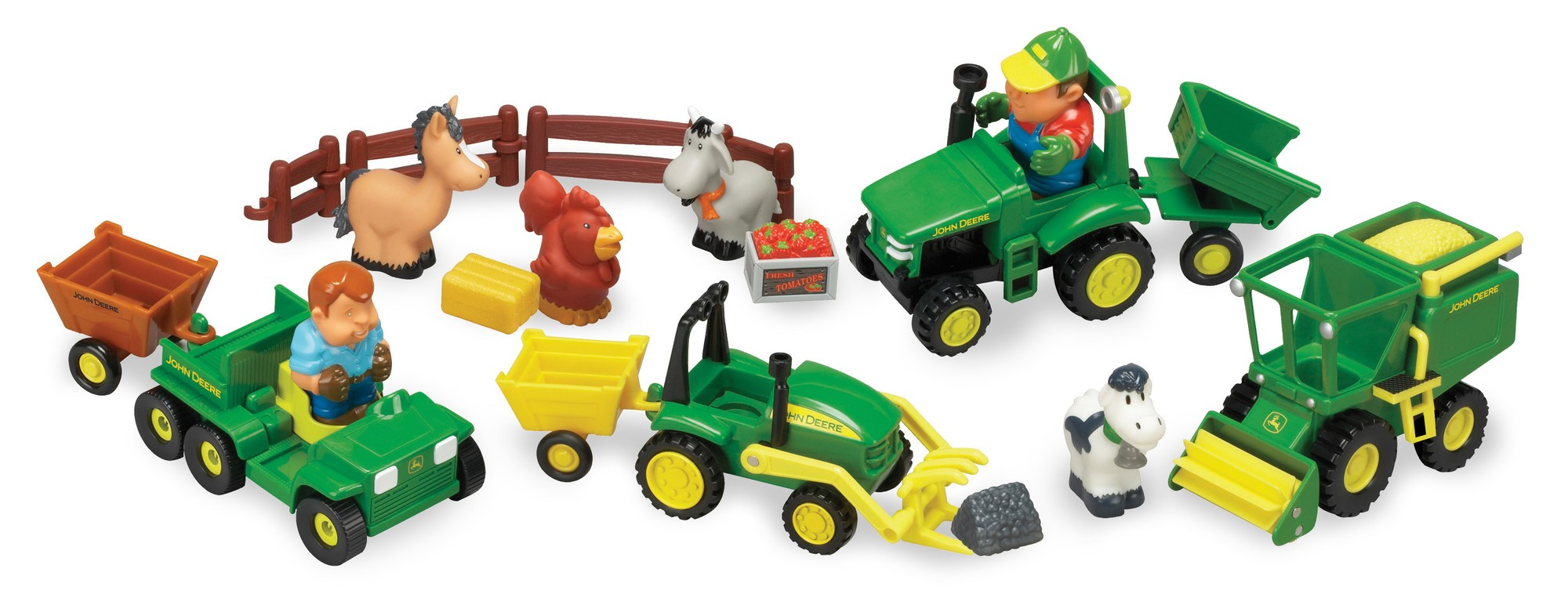 John Deere Fun On The Farm Playset by TOMY