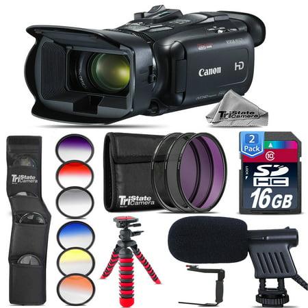 Canon VIXIA HF G21 HD Camcorder + Shotgun Mic + Rotating Bracket - 32GB Bundle