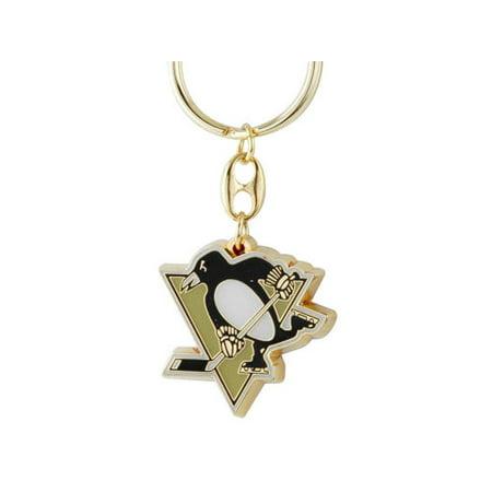 Pittsburgh Penguins Brass Key Chain](Penguin Keychain)