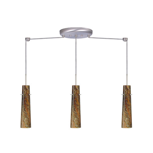 Besa Lighting Camino 3 Light Linear Pendant