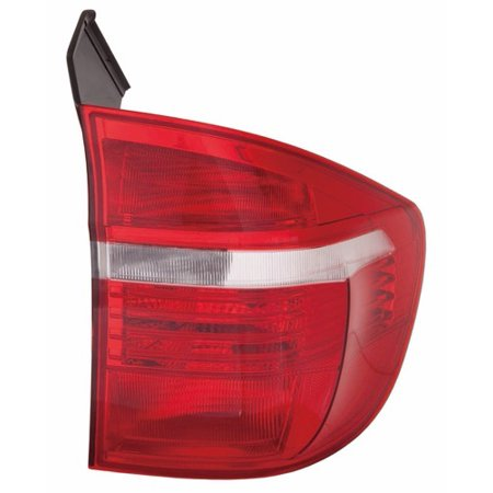 Go-Parts » 2007 - 2011 BMW X5 Rear Tail Light Lamp Assembly / Lens / Cover - Left (Driver) Side Outer - (E70 Body Code) 63 21 7 200 819 BM2804103 Replacement For BMW (2007 Mazda Cx 7 Tail Light Assembly)