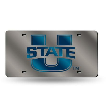 Utah State Aggies NCAA Laser Cut License Plate Cover (Utah State License Plate)