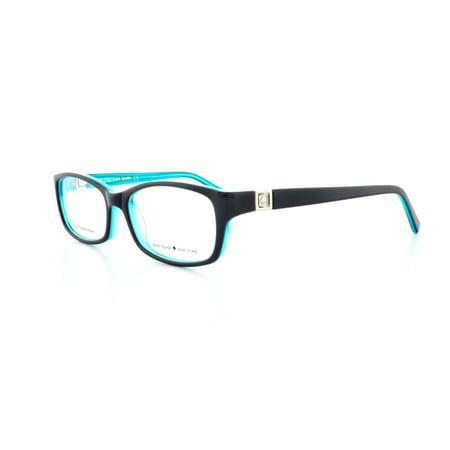 b555ceab32b KATE SPADE Eyeglasses REGINE 0DH4 Black Aqua 50MM - Walmart.com