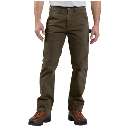 (Carhartt Men's Washed Twill Dungarees)
