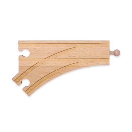 """6"""" Curved Switch Track - Female"""