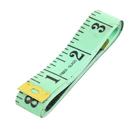 Mètre à Ruban adhésif en fibre de verre mesure 2cm Largeur 150cm 60 pouces Vert/Noir - image 2 de 2
