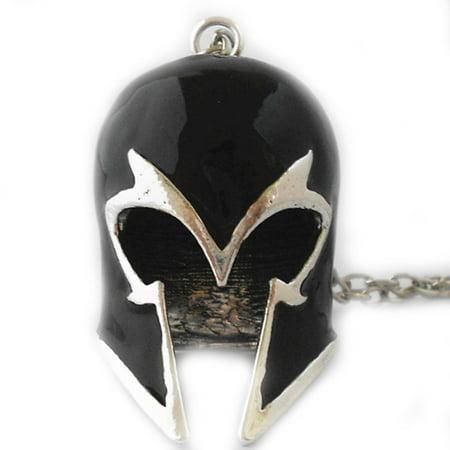 Nhl Logo Necklace - Marvel Magneto Helmet Logo 18