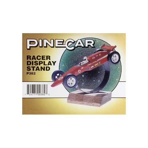 P382 Racer Display Stand Multi-Colored