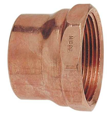 NIBCO Adapter,Wrot Copper,C x FNPT,1-1/2 In 908.5