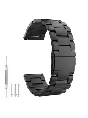 Product Image EEEKit 22mm Quick Release Stainless Steel Replacement Bands Bracelet Wrist Straps for Samsung Gear S3 Frontier