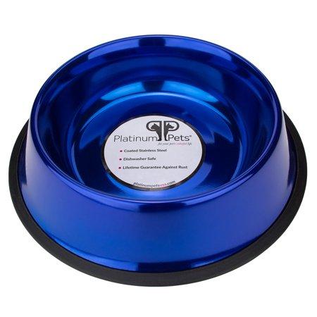 Platinum Pets® 24oz Stainless Steel Dog Bowl Charter Club Platinum Bowls