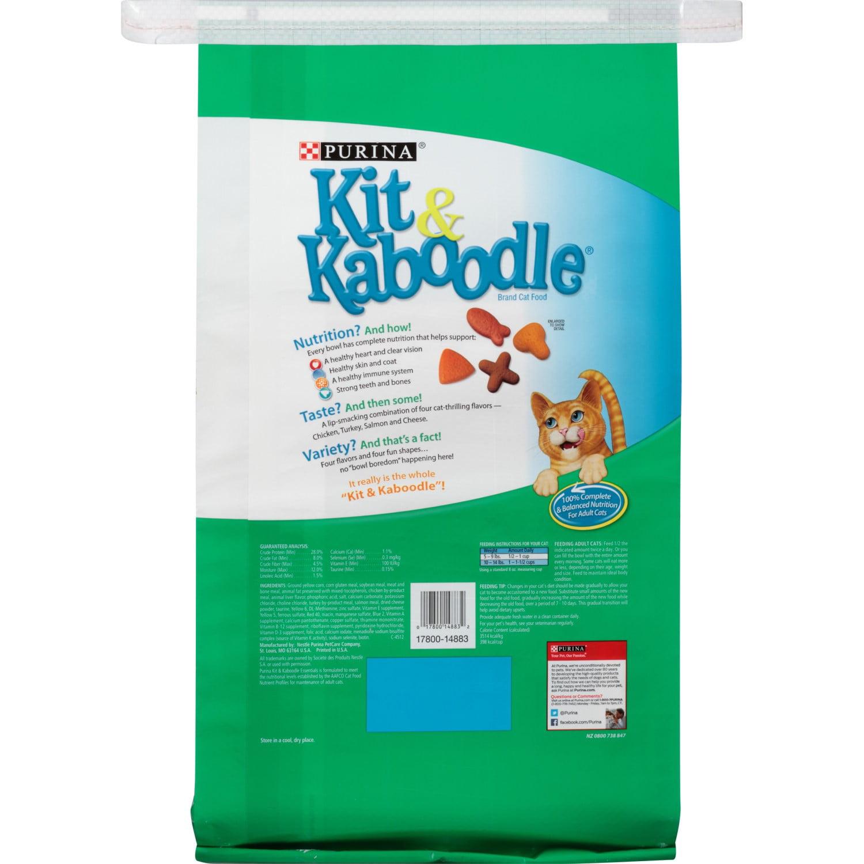 Purina Kit & Kaboodle Essentials Dry Cat Food, 13 lb - Walmart.com