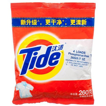 Central Supply 82175987-21630 PE Tide 9.17 oz Detergent Powder, Pack of - Central Supply