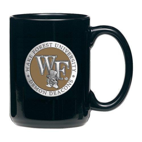 Wake Forest University Coffee Mug, Black