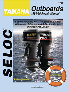 seloc marine manual for yamaha outboards walmart com rh walmart com yamaha outboard maintenance manual yamaha f20 outboard owners manual