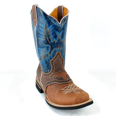 Mens Cowboy Boot - Dona Michi Men's Rodeo Cowboy Boots
