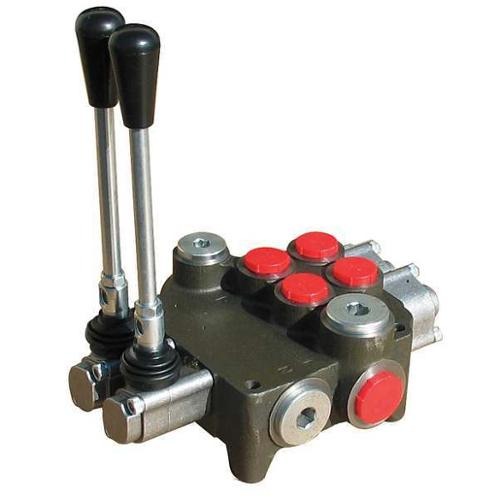CHIEF 2P80 Hydraulic Directional Valve, 2 Spool