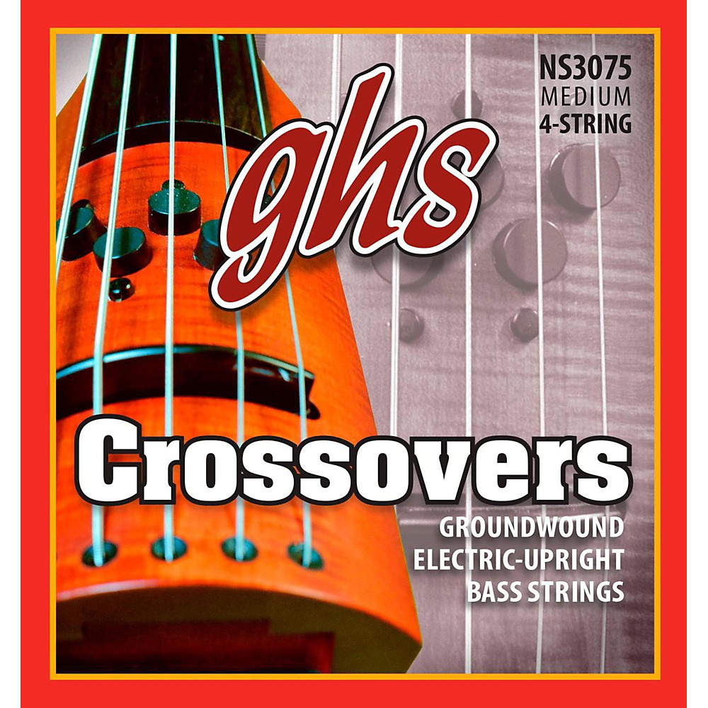 GHS Crossovers NS Design Upright Electric Bass Strings (47-105) by